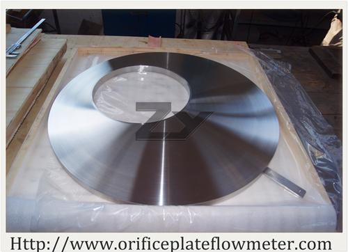 Home orifice plate flow meter wedge venturi